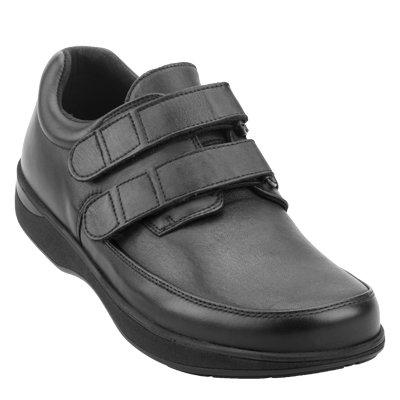 e0d98fdb6b3 New Feet, til brede fødder. Skoen har stræk skind over tæerne.
