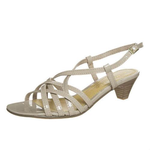 Marco Tozzi fest sandal, på glat sål