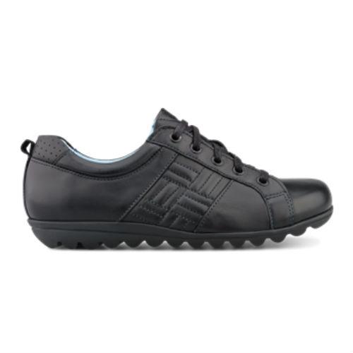 Green Comfort snøre sko med Hoover Craft sål