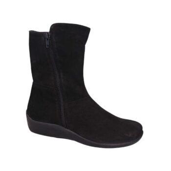 Arcopedico støvle med lynlås, gedeskind