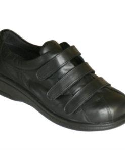 Arcopedico skind sko med 3 velcro
