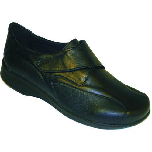862b789472b Arcopedico sko med ekstra blød materiale ved knyster. Skind og stof