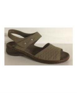 Jenny Ara sandal med udtagelig bundsål. Flot jord farve