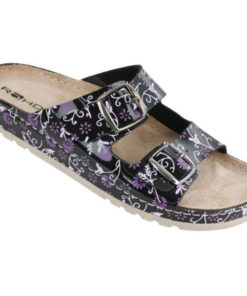Rohde 5802 sandal i fede farver