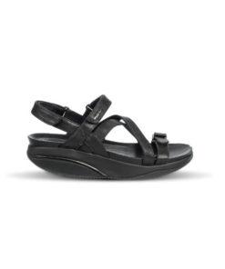 Kiburi MBT sandal i sort skind