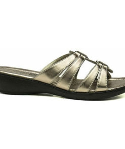 Guld bronze slippers, sandal