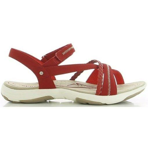 Skills sandal i blå, dejlig arbejdssandal