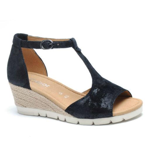 Gabor sandal på kilebund 42.842