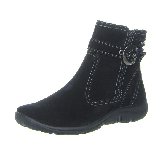 e6795f42611 Legero gore tex støvle, flot sort ruskind, smart design