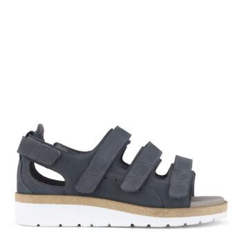 New Feet let, bred sandal med gænge