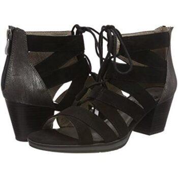 Jana støvle sandal med hælkappe