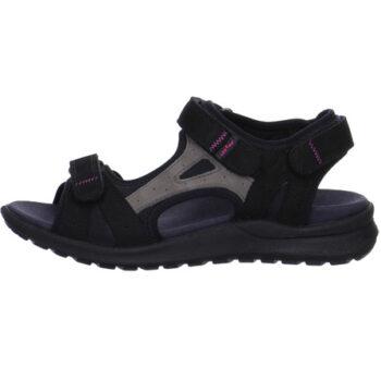 Legero trekking sandal med let opbygning i sålen og velcroremme