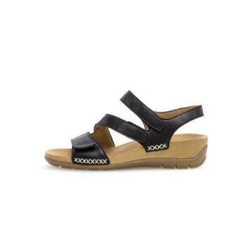 Gabor sandal på en anatomisk bund