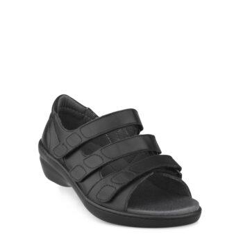 New Feet dame sandal med god støtte til foden.