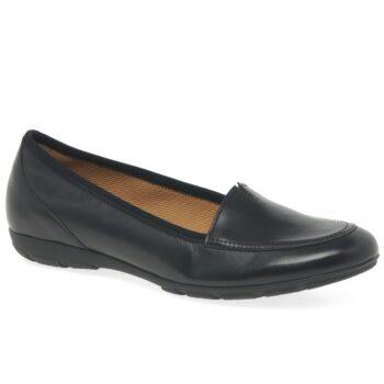 Gabor sort ballerina sko til kvinder.