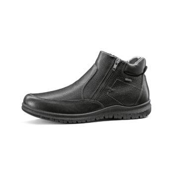 Ara herre støvle med Gore Tex, sort læder.