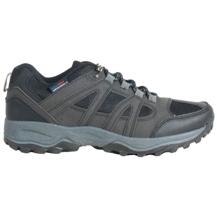 Herre sko med snøre, grov sål. Moza-x