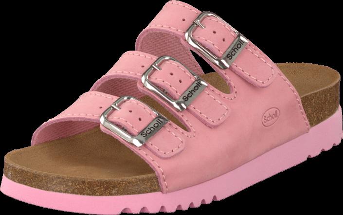 Sød pink sandal model Rio fra Scholl