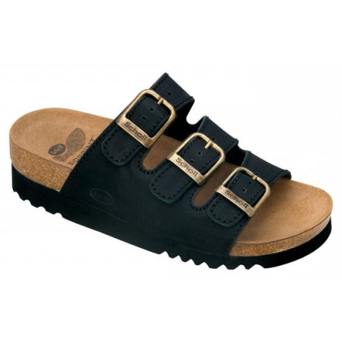 Sort Rio sandal fra Scholl