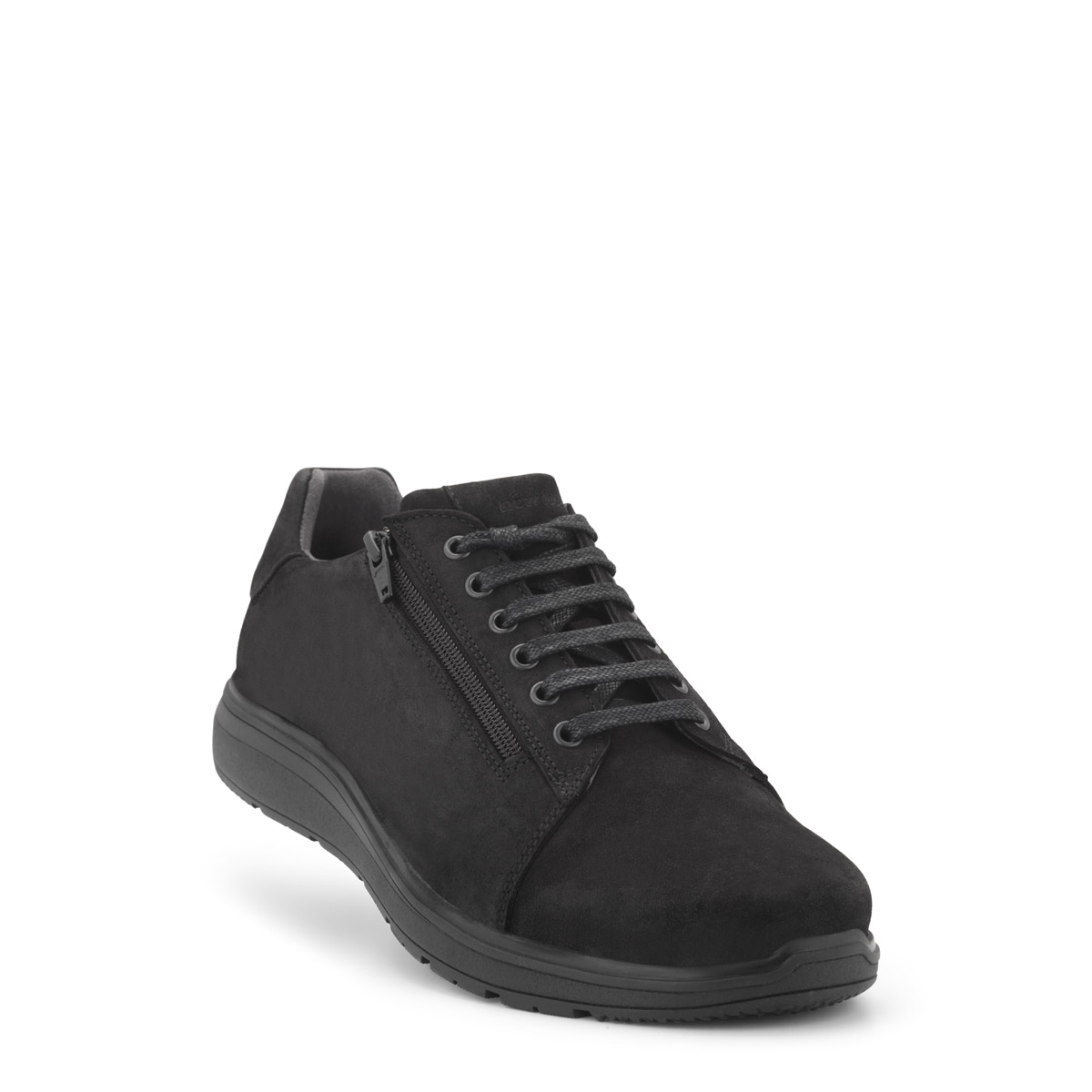 New Feet Herresko med snørre Sort Herre skostøvler