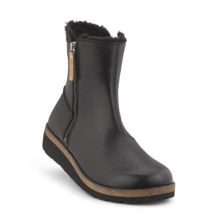 New Feet elegant og let kort støvle