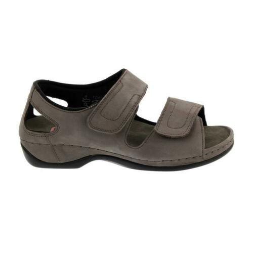 Berkemann sandal med lukket hæl og velcro
