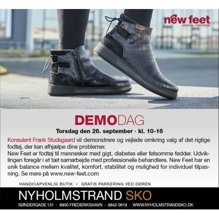 Demodag med New Feet, efterår 2019