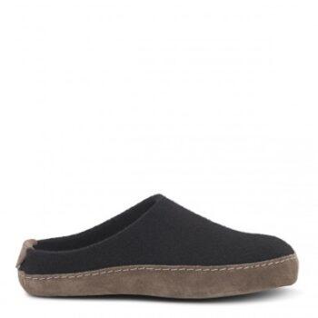 New Feet hjemmesko i filtet uld, og på spalt bund