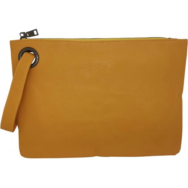 Taske til ipad i smart gul farve