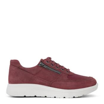 New Feet street sko med snørebånd og lynlås