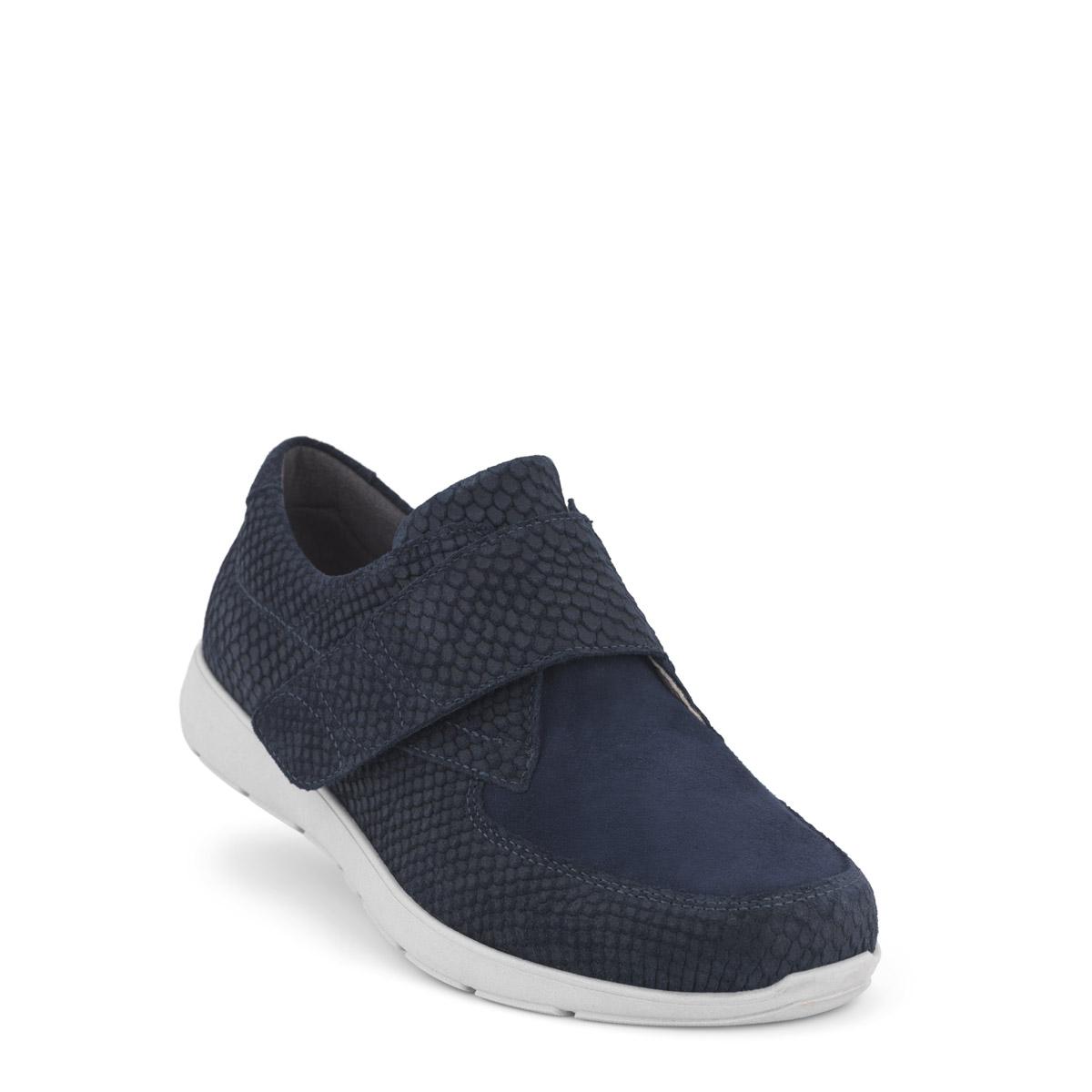 New Feet sko med velcro og stræk over tåen