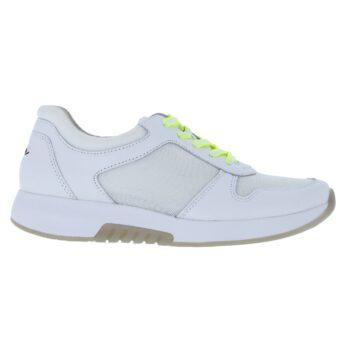 Gabor rolling soft hvid skind sneaker