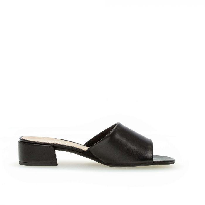 Gabor sandal på lille blok hæl