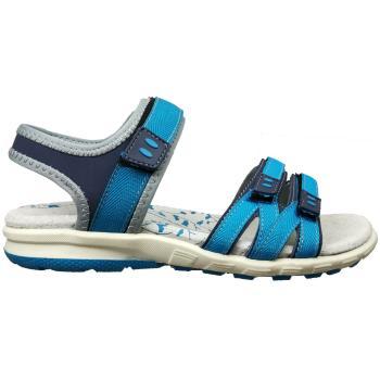 Dame,pige sandal i flot turkisblå