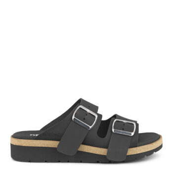 New Feet slippers i sort