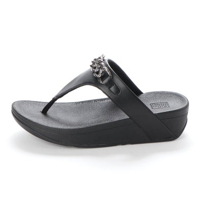 FitFlop tåsplit sandal i sort