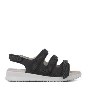 New Feet sandal med 3x velcro