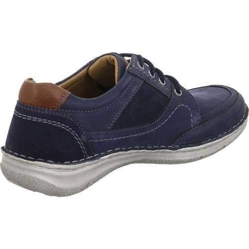 Blå nubuck sko fra Josef Seibel