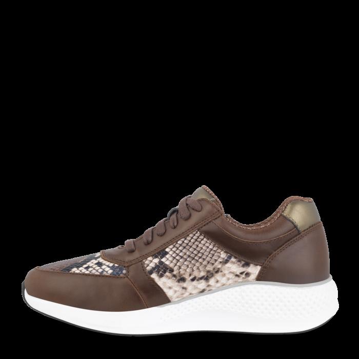 Green Comfort Dolpihn sko, brun og snake