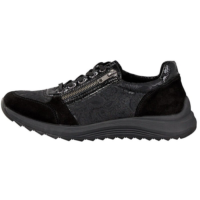 Remonte by rieker, sneaker hil ømme fødder, sort