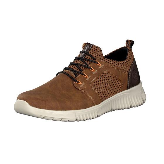 Rieker herre sko brun kunstskind