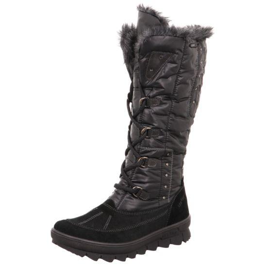 Legero varm vinter damestøvle med langt skaft