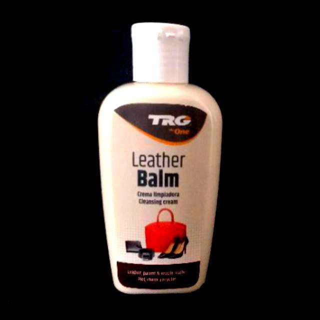 Trg læder balsam naturlige olier pleje sort neutral brun