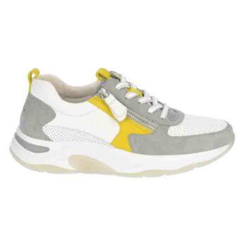 Gabor Rolling soft sneaker i hvid