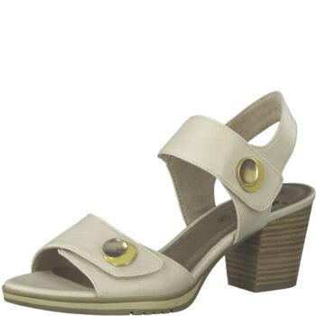 Jana sandal på 6 cm hæl