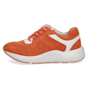 Caprice sneaker i varm orange