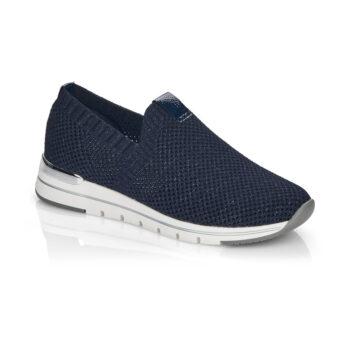 Remomte by Rieker loafer i mørkeblå