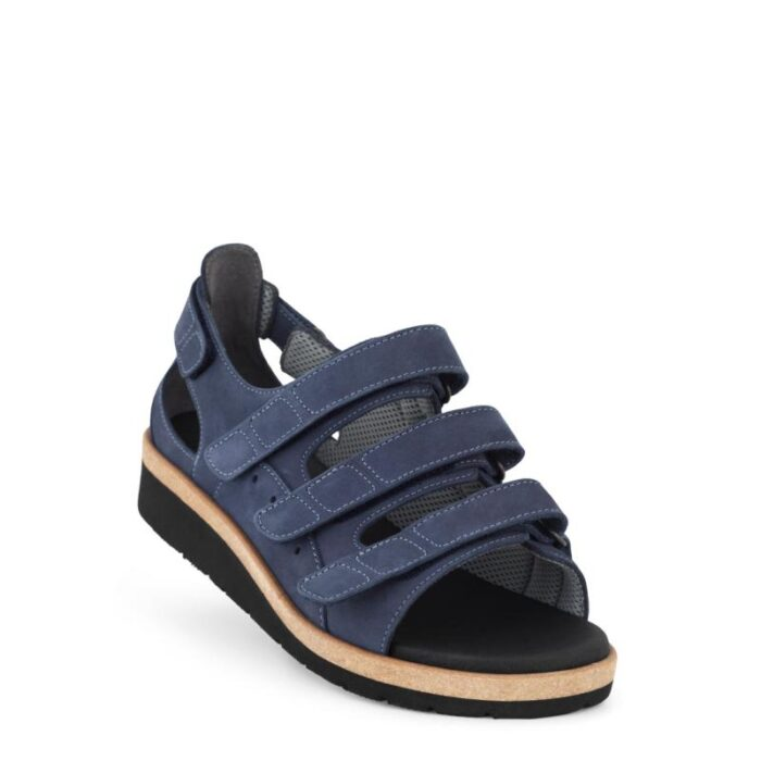 New Feet damesandal blå