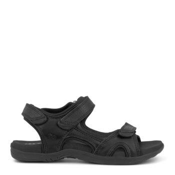 Green Comfort, Corsica sandal i helt sort
